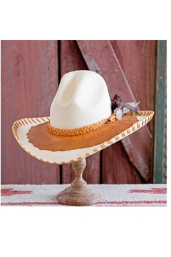 Patricia Wolf Designs Funky Western Hat - Product List Image