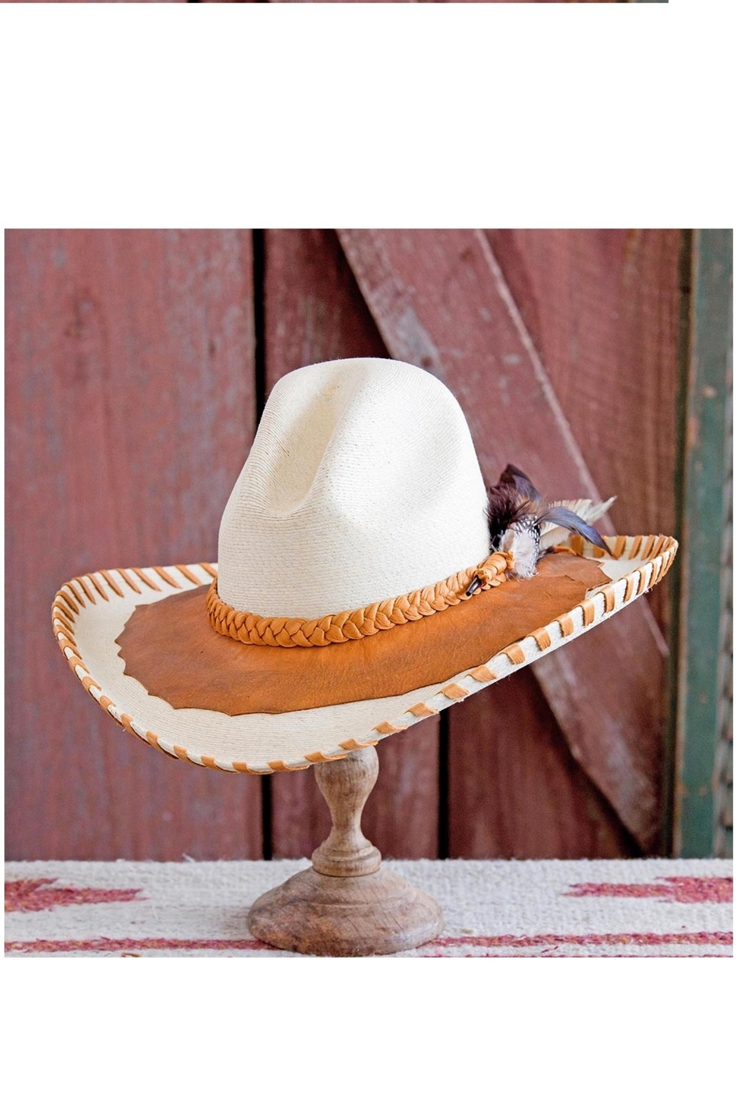 Patricia Wolf Designs Funky Western Hat - Front Full Image