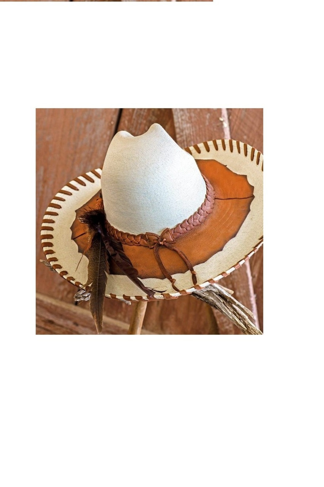 Patricia Wolf Designs Funky Western Hat - Side Cropped Image