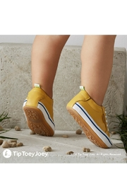 Tip Toey Joey Funky Yellow Sneakers - Front full body