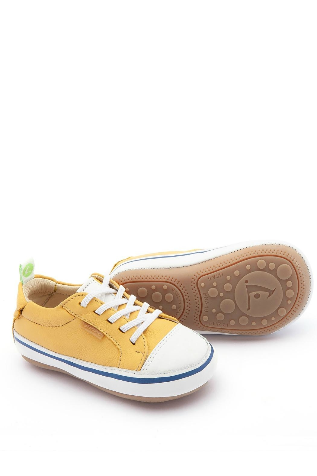 Tip Toey Joey Funky Yellow Sneakers - Main Image