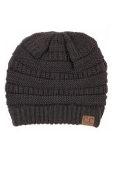 Shoptiques Product: Ribbed Colored Beanie