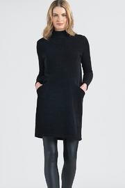 Clara Sunwoo Funnel Neck Knit Dress - Front cropped