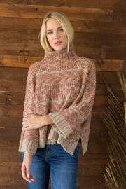 Mystree Funnel Neck Sweater - Front cropped
