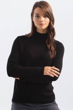 Charlie B. Funnel Neck Sweater - Product List Image