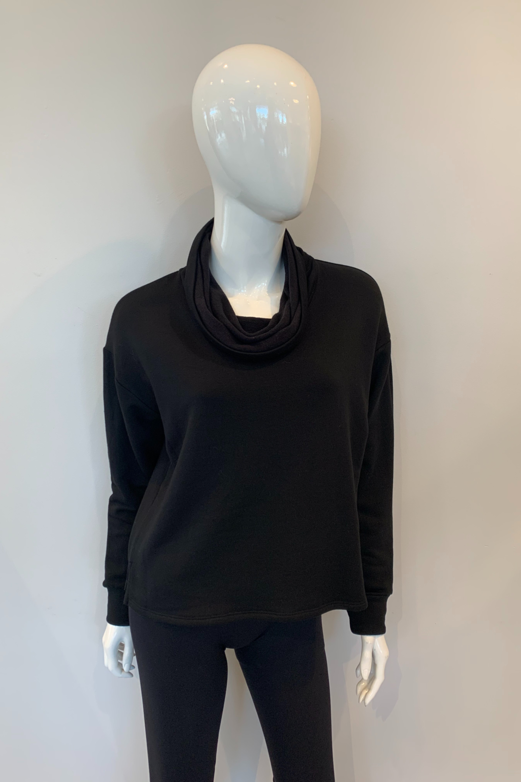 Fifteen Twenty Funnel Neck Top - Front Cropped Image