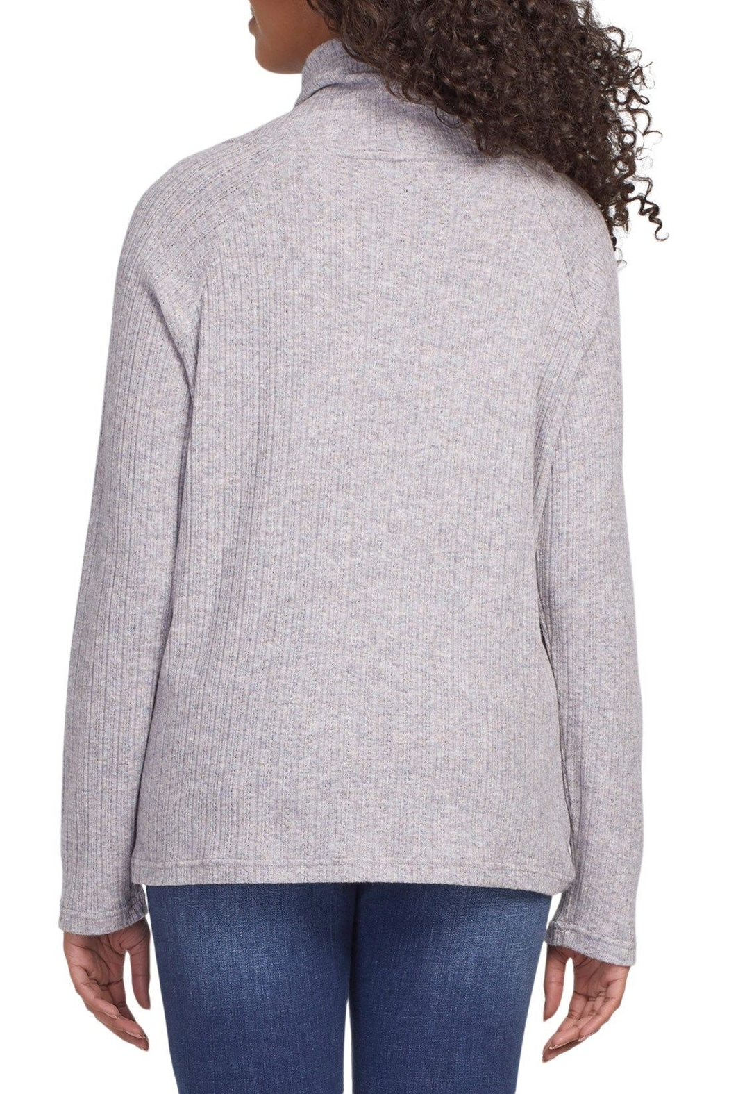 tribal  Funnel Neck Top - Front Full Image
