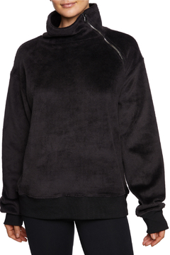 Betsey Johnson Funnel Zipper Neck Pullover - Product List Image