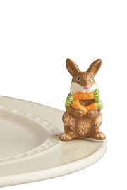 Nora Fleming Funny Bunny Mini - Product Mini Image