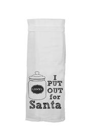 Twisted Wares™ Funny Santa Towel - Product Mini Image
