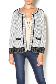 Funsport Black White Reversible Cardigan - Product Mini Image