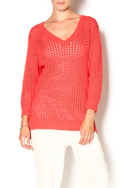 Funsport Melon Cotton Sweater - Product Mini Image