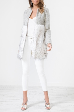 Urban Touch Fur Body Woolcoat - Product List Image