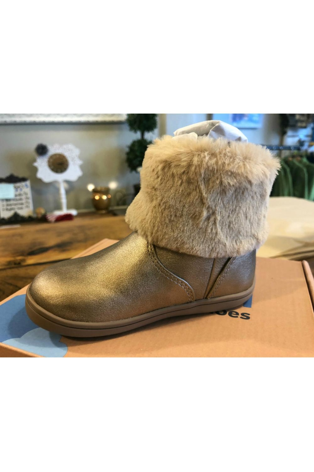 Mayoral Fur Bootie - Front Cropped Image
