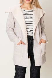 HYFVE Fur Collar Jacket - Product Mini Image
