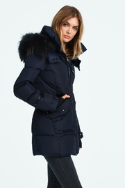 Sam. Fur Cruiser Jacket - Front full body