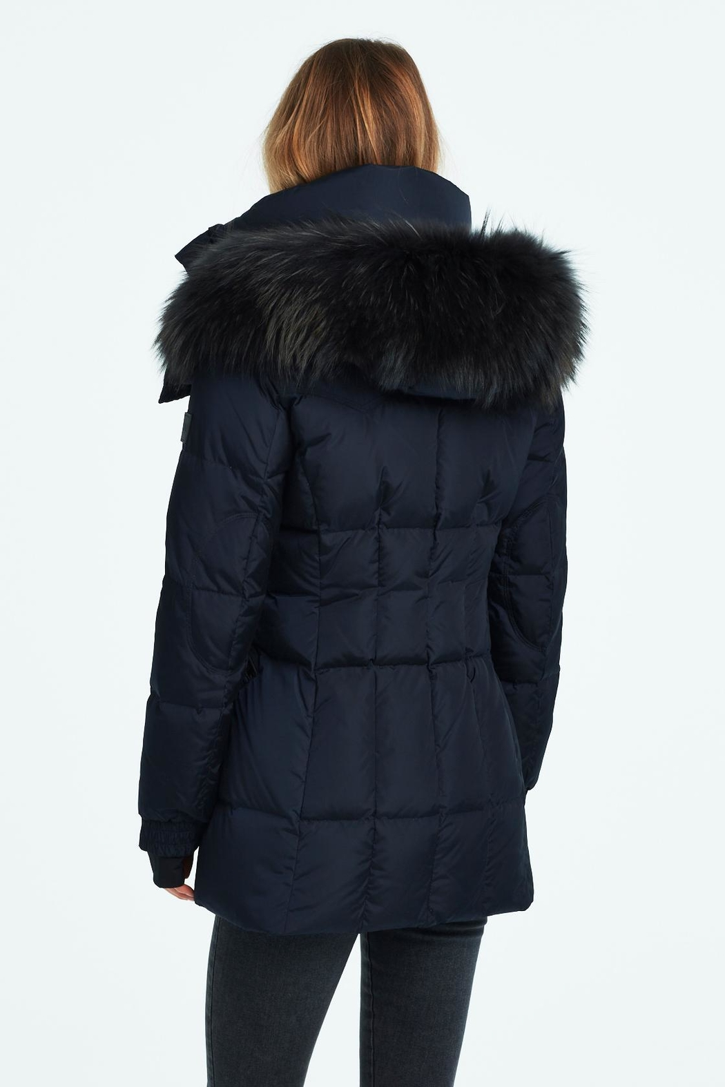 Sam. Fur Cruiser Jacket - Side Cropped Image