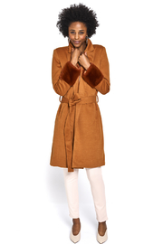 L'atiste Fur Cuff Jacket - Product Mini Image