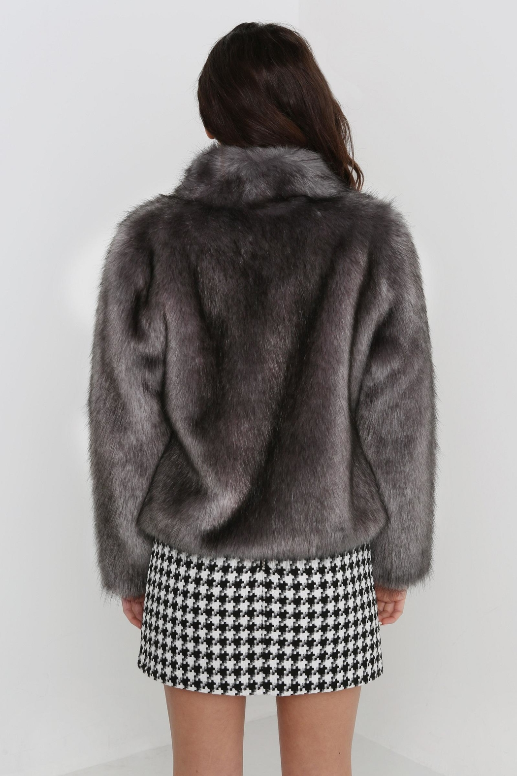 UNREAL FUR Fur Delish Jacket - Front Full Image