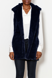 CAPOTE Fur Hooded Vest - Product Mini Image