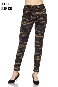 Shoptiques Product: Fur Lined Jogger