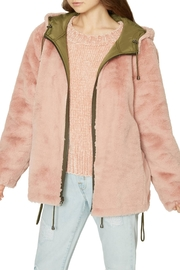 Sanctuary Fur Mini Parka - Front full body