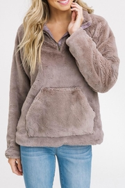 Listicle Fur Pullover Jacket - Product Mini Image