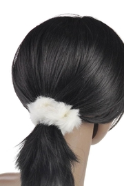 Bari Lynn Fur Scrunchie - Product Mini Image