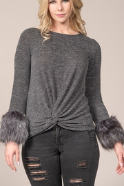 Rain FUR SLV PULLOVER - Product Mini Image
