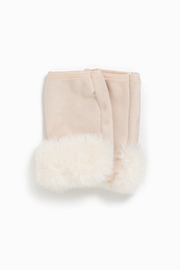 Look by M Fur Trim Fingerless - Product Mini Image