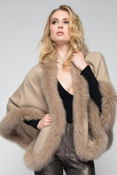 Shoptiques Product: Fur Trim Wrap