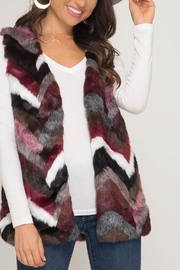 Unknown Factory Fur Vest - Product Mini Image