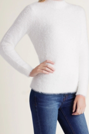 Kensie Fur Yarn Knitted Sweater - Product Mini Image