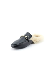 Nature Breeze Furry Loafer Slide - Product Mini Image