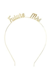 MUDPIE Future Mrs Headband - Product Mini Image