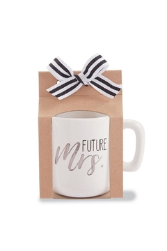 Mud Pie Future Mrs Mug - Alternate List Image