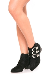 Fuzzi Alex Booties - Front cropped