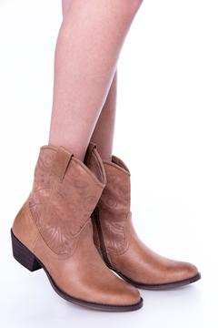 Shoptiques Product: Brown Cowgirl  Booties