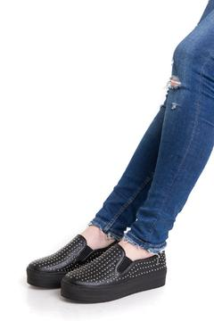 Shoptiques Product: Rivet Slip-On Sneakers