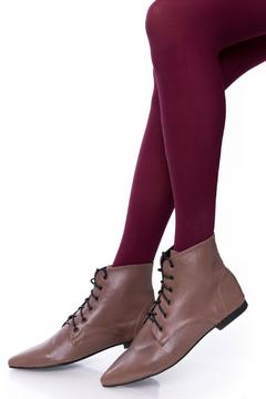 Shoptiques Product: Taupe Oxford Booties