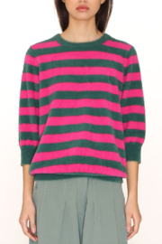 PepaLoves Fuzziest Stripe Sweater - Product Mini Image