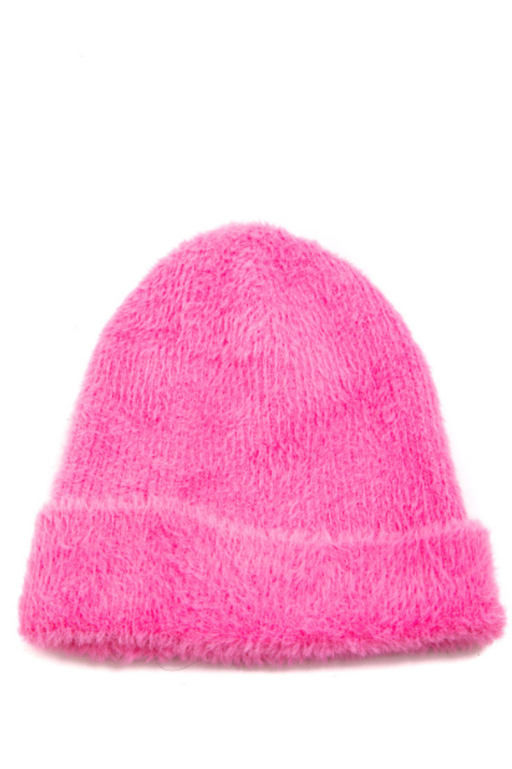 FAME ACCESORIES Fuzzy Beanie - Main Image