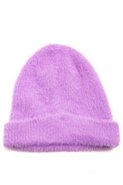 FAME ACCESORIES Fuzzy Beanie - Front cropped