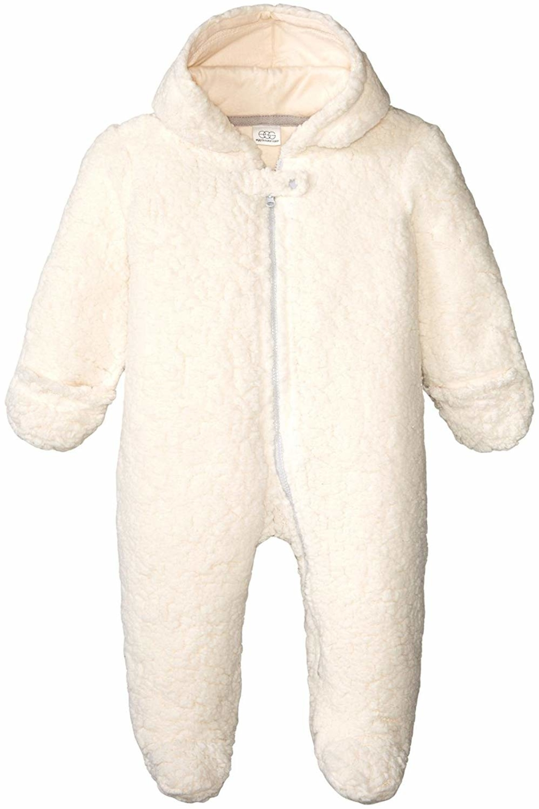 Egg by Susan Lazar Fuzzy Bear Snowsuit - Main Image