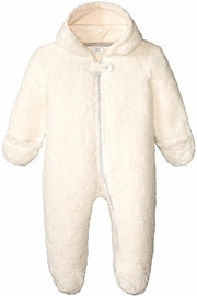 Egg by Susan Lazar Fuzzy Bear Snowsuit - Front cropped