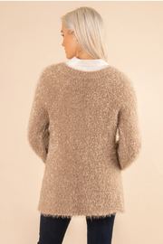 Simply Noelle Fuzzy Bear Sweater - Front full body