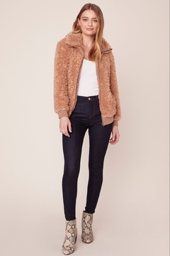 BB Dakota FUZZY BOMBER JACKET - Alternate List Image