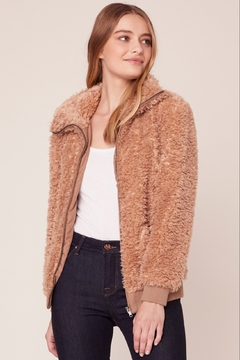 BB Dakota FUZZY BOMBER JACKET - Product List Image