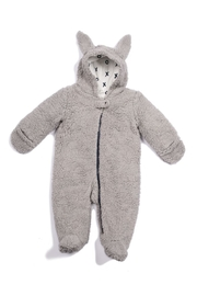 Egg  by Susan Lazar Fuzzy Bunny Snow Suit - Front cropped
