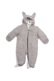 Egg  by Susan Lazar Fuzzy Bunny Snowsuit - Front cropped